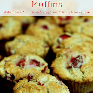 Gluten, Nut, & Egg Free With Dairy Free Option.