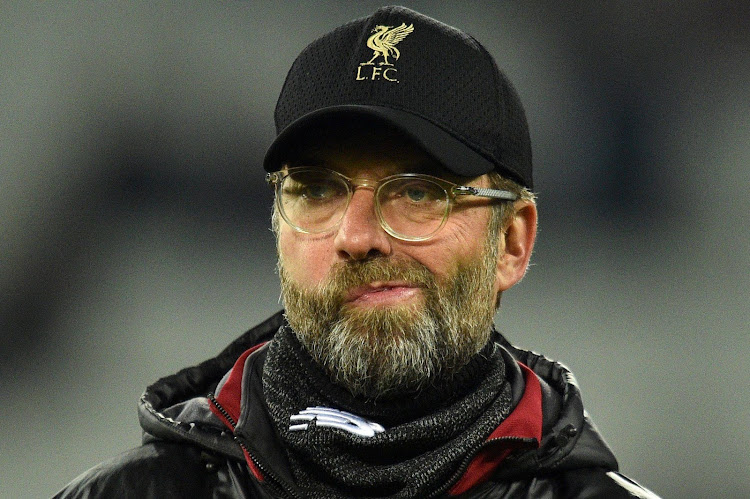 Liverpool's German manager Jurgen Klopp reacts ahead of the English Premier League football match between West Ham United and Liverpool at The London Stadium, in east London on February 4, 2019.