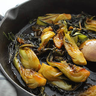 Sweet and Spicy Bok Choy.