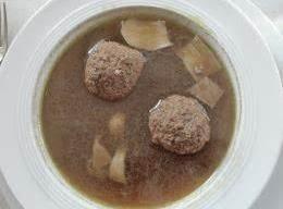 Liver Noodles (leberknoedel)