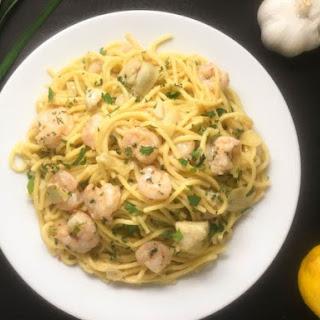 Gluten Free Shrimp Scampi Pasta