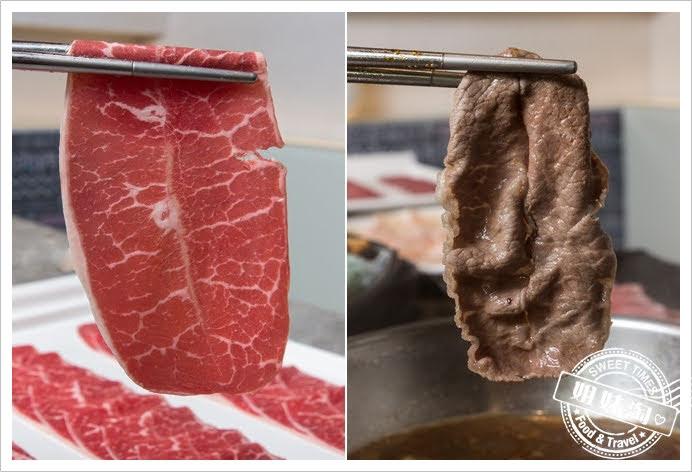 哈肉鍋大盤肉美國霜降牛