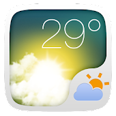 Outside Weather Widget Theme