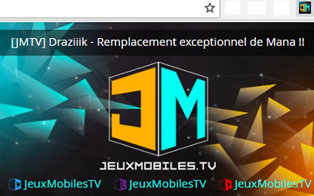 JeuxMobilesTV Chrome live addon