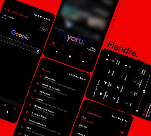 [Substratum] yoru. for Samsung Oreo 25 screenshots 4