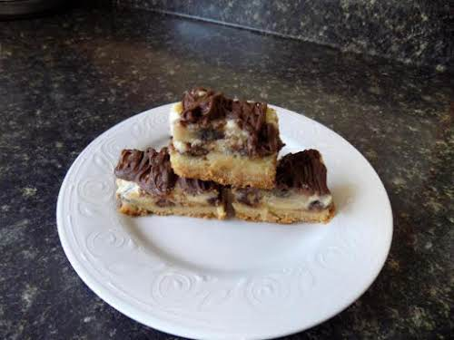 "Chocolate Peanut Butter Banana Gooey Bars ""Just tried this gooey pan of goodness,..."