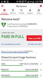 My Verizon Mobile Screenshot 1