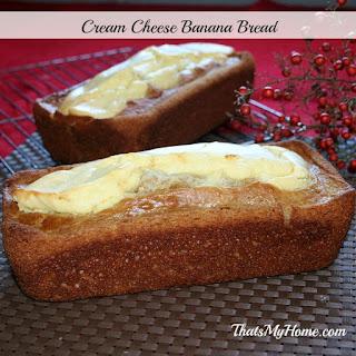Buttermilk Banana Cream Cheese Bread