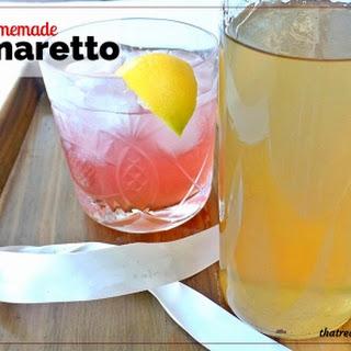 Homemade Amaretto.