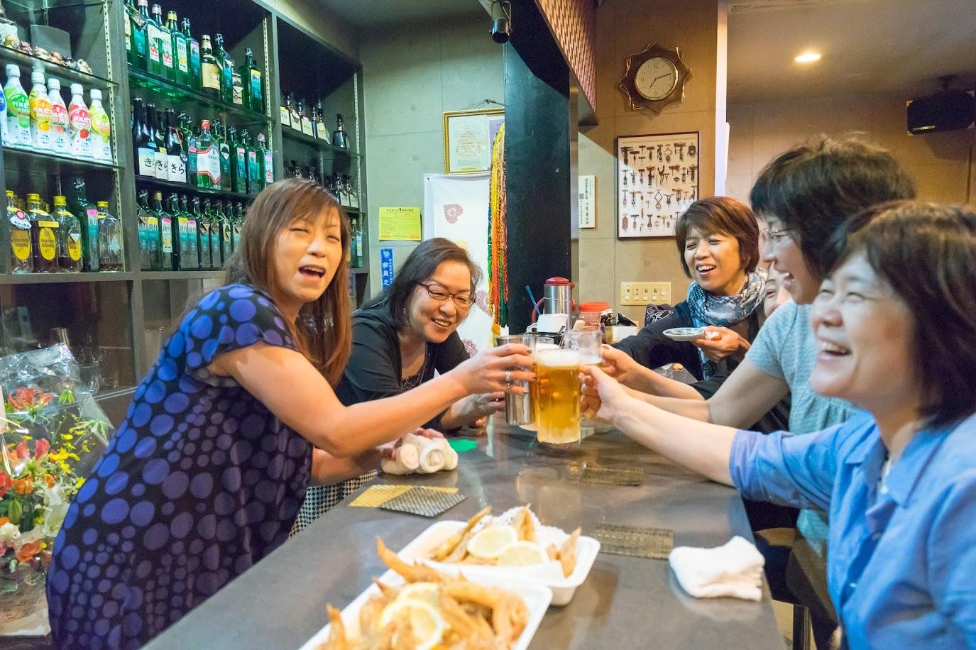 おめでとうの乾杯!!