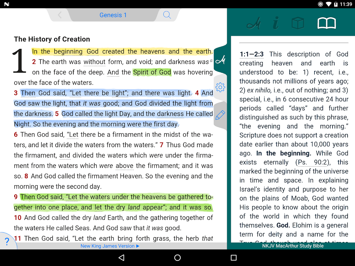 nkjv macarthur study bible android apps on google play