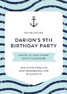 Darion's 9th Birthday - Birthday Card item