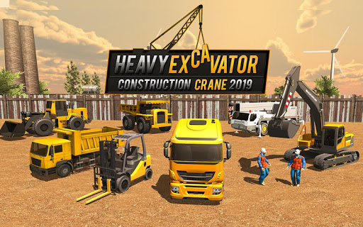 Heavy Construction Crane Driver: Excavator Games 1.0.5 screenshots 1