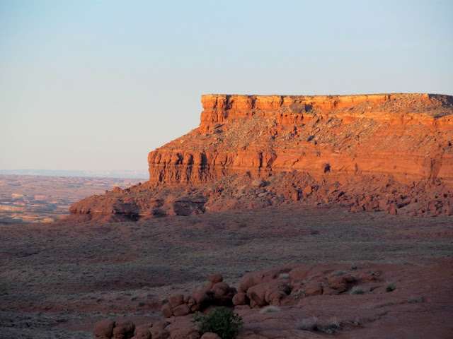 Red Ledges at sunrise