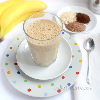 Diabetic Oatmeal Breakfast Smoothie