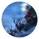 Santa Claus HD Pop Festival New Tabs Theme