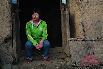 Photo: Xinghui, a CWEF sponsored student in Yunnan