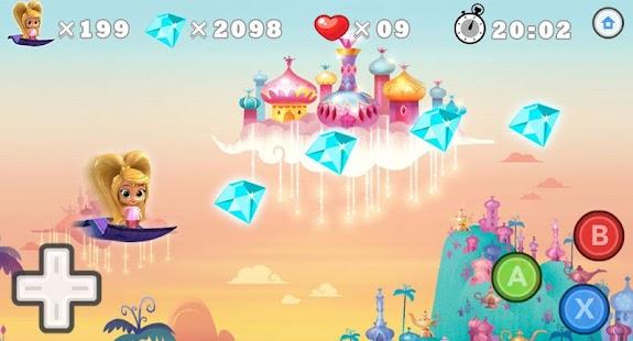 ?Shimmer Princess Flying - náhled