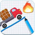 Truck vs Fire: Brain Challenge icon