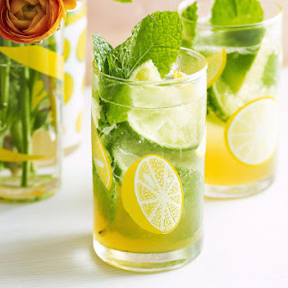 Lime and Mint Punch.