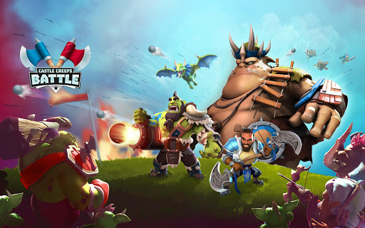 Castle Creeps Battle screenshot 11