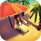 Paradise Island Craft: Sea Fishing & Crafting icon