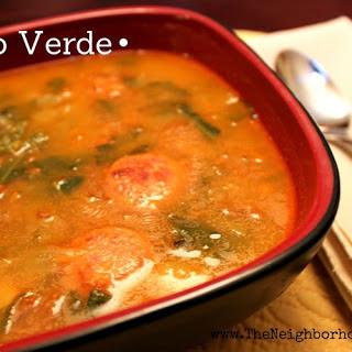 Caldo Verde or Portuguese Kale Soup