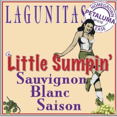 Logo of Lagunitas Little Sumpin' Sauvignon Blanc Saison