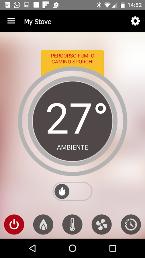 SmartStoves Palazzetti- screenshot