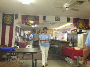 Photo: Activites Director For Life, Nancy......