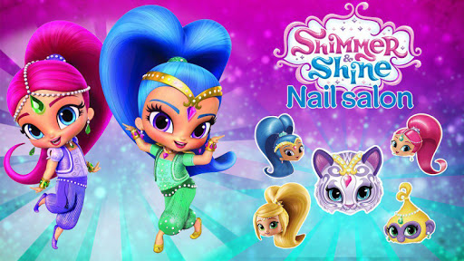 Shimmer and Shine Nail Salon  captures d'écran 2