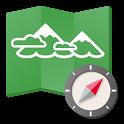 ヤマレコMAP - 登山・ハイキング用GPS地図アプリ icon