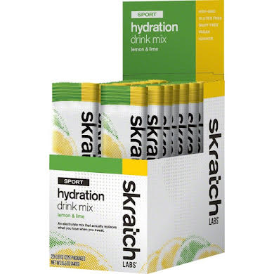 Skratch Labs Sports Hydration Mix, Box of 20 Tubes
