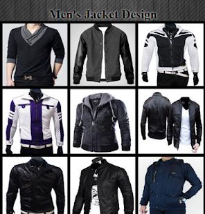 Men's Jacket Design - náhled