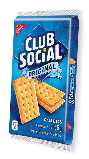 Galleta Club Social 156Gr