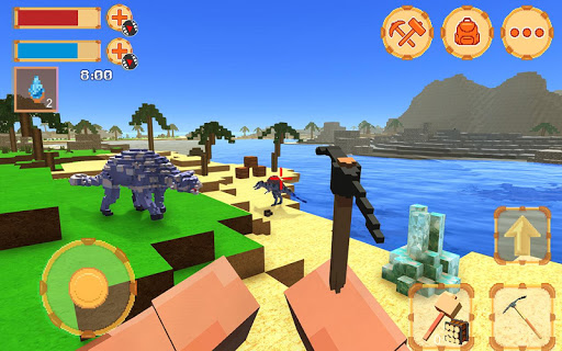 Blocky Ark Survival 3D screenshot 2