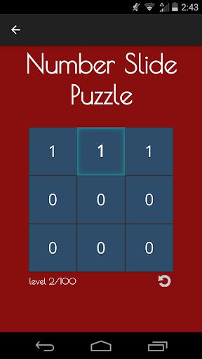 Number Slide Puzzle Free