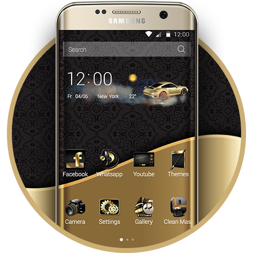 Luxury Gold Theme - Apps on Google Play