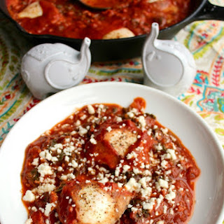 Shakshouka (Eggs in a Spiced Tomato Sauce)