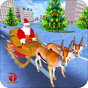 Game Christmas Santa Rush Delivery- Gift Game apk for kindle fire