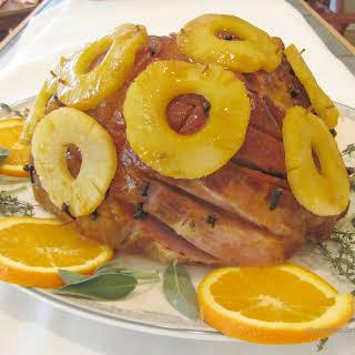 Orange Glaze For Ham.