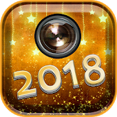 New Year Photo Stickers 2018