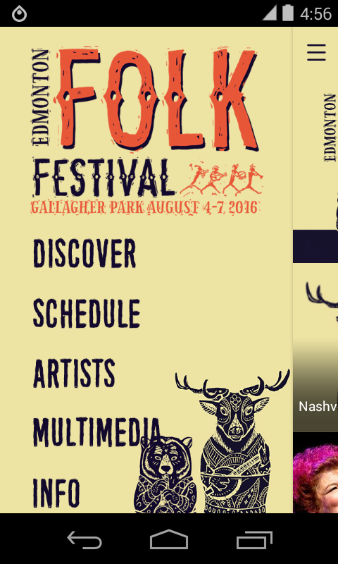 Edmonton Folk Music Festival- screenshot