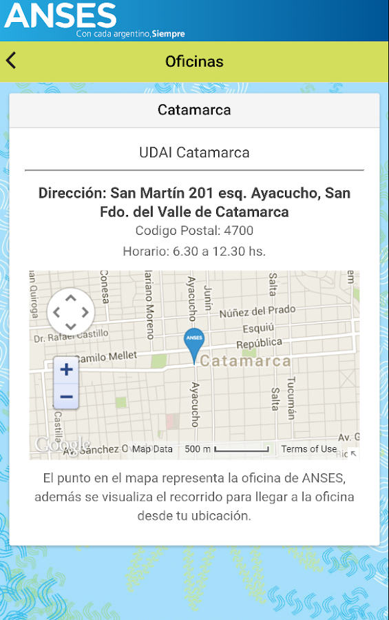 Mi ANSES- screenshot