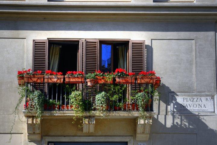 Balcone sulla Piazza di emorpi