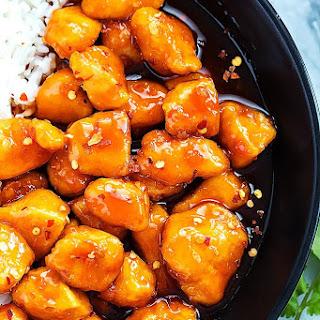 Slow Cooker Firecracker Chicken.