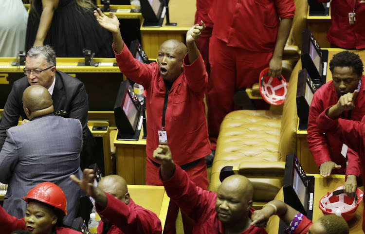 EFF MP's To Face Parliamentary Inquiry Over Sona Disruption
