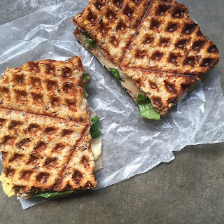 Waffle Iron Panini.