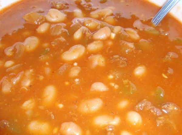 White Bean And Chorizo Soup-mw Recipe