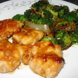 Honey Orange Chicken with Broccoli